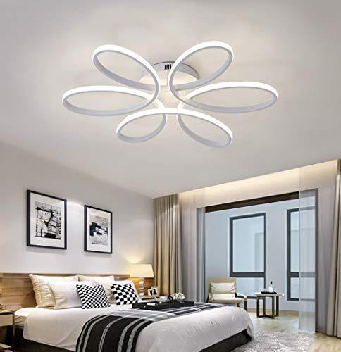 85W LED Plafoniera Creativo Forma di fiore Lampada da ...