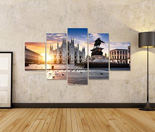 Islandburner quadro moderno milano italia milano stampa su for Poltrone x ufficio